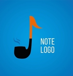 development of creative logos on a musical theme vector image