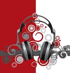 musical abstraction vector image