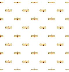 magic scroll pattern vector image vector image
