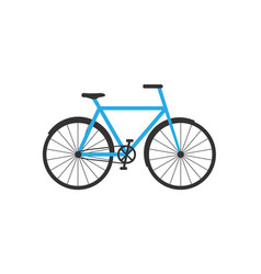 bicycle icon bike icon flat vector image