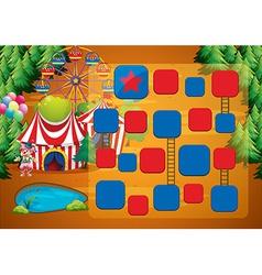 Circus game vector
