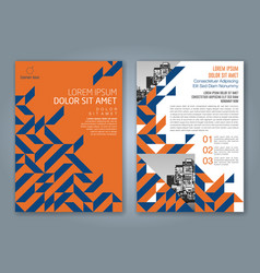 Cover annual report 845 vector