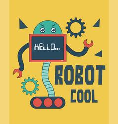 Monitor robot vector