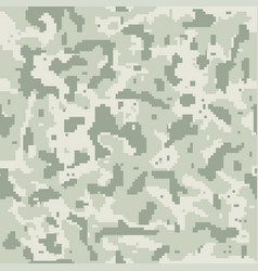 seamless camouflage pattern swamp style vector image