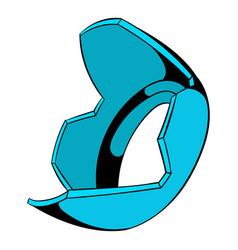 lens hood icon cartoon vector image