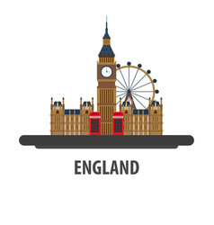 england travel location vacation or trip and vector image