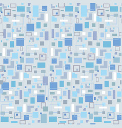 abstract seamless pattern geometric shape vector image