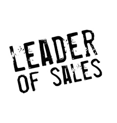 Leader of sales stamp vector