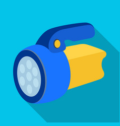 flashlighttent single icon in flat style vector image