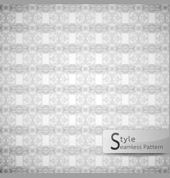 Abstract seamless pattern ribbon row lattice vector