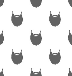 Bears Seamless Pattern Background vector image