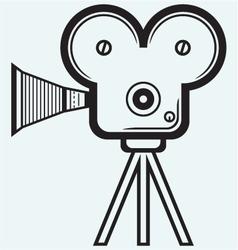 Video camera vector image