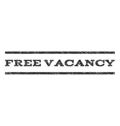 Free vacancy watermark stamp vector