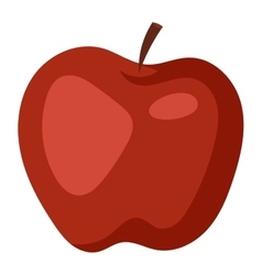 Fresh apple icon vector