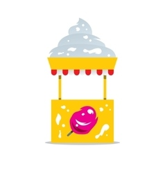 Ice Cream Shop Cartoon vector
