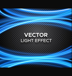 Light effect on checkered background vector