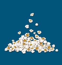 Popcorn fall down on heap vector