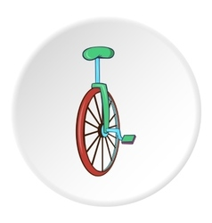 Unicycle icon cartoon style vector image