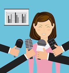 break news vector image vector image