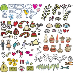 icon drawings vector image