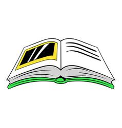 photo album icon cartoon vector image