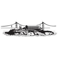 Alcatraz vector