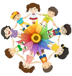 Cultural diversity vector