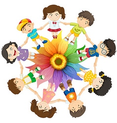 Cultural diversity vector image