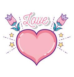 Cute love cartoons vector