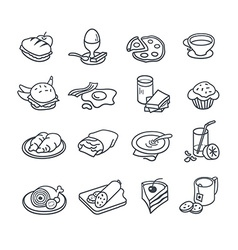 Food Icon Collection vector