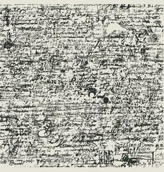 Seamless pattern with an abstract handwritten text vector