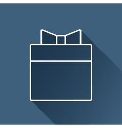 present icon Eps10 vector image