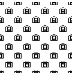 First aid kit pattern simple style vector image