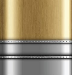 metallic background 1401 vector image