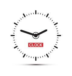 Abstract Alarm Clock vector