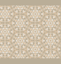 abstract oriental floral seamless pattern flower vector image