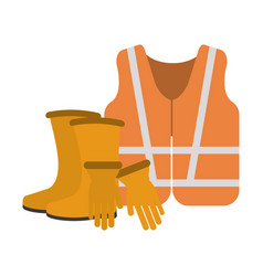 construction equipment and tools vector image