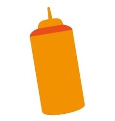 fast food sause bottle vector image