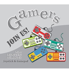 Gaming theme vector