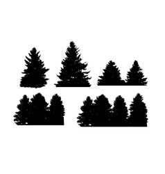 Image nature tree silhouette vector