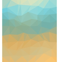 Polygonal background Can be used as cover design vector image