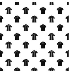 Shirt polo pattern vector