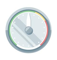 Speedometer flat icon vector image