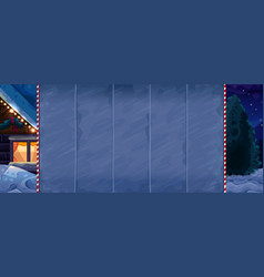 christmas background for slots game vector image vector image