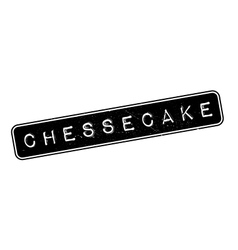 Chessecake rubber stamp vector image
