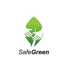 green care logo vector image