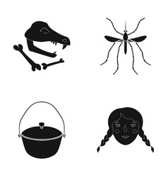 history museum nature and other web icon in vector image