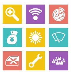Icons for Web Design set 46 vector
