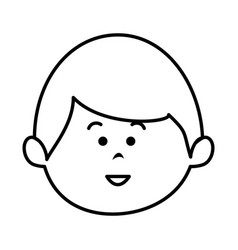 little baby avatar character vector image