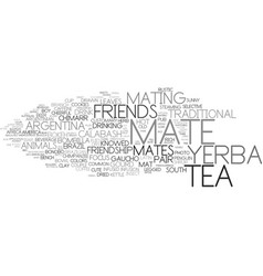 Mates word cloud concept vector